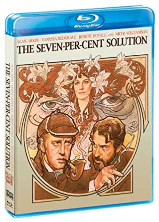 cc472e9ec3d Amazon.com  The Seven-Per-Cent Solution (Blu-ray DVD Combo)  Alan ...