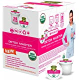 SOLLO K-Cup Keurig 2.0 Compatible COFFEE Pods, Detox Slimming And Cleaning COFFEE For Men and Woman, Strong Antioxidant, Organic by USDA, 24 Count Per Box, Weight Loss Supplements