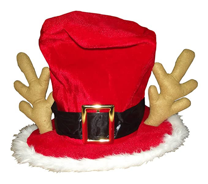 beafa99df4 Image Unavailable. Image not available for. Colour  Amcan Holiday Mad  Hatter Christmas Hat ...