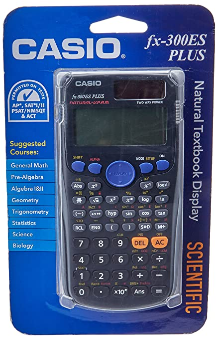 amazon com casio fx 300es plus scientific calculator black rh amazon com Casio FX 300Ms VAMPS Casio FX 300Ms VAMPS