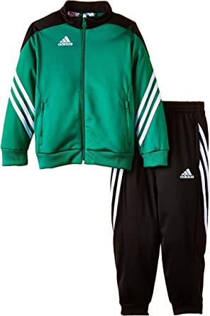 adidas Kids Tracksuit SERE 14 PES Junior Boys Soccer Training Jog Suit Youth Poly