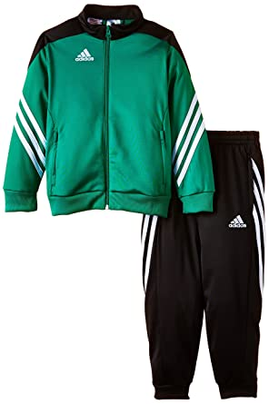 cb24cd757 Amazon.com: adidas Kids Tracksuit SERE 14 PES Junior Boys Soccer Training  Jog Suit Youth Poly: Clothing