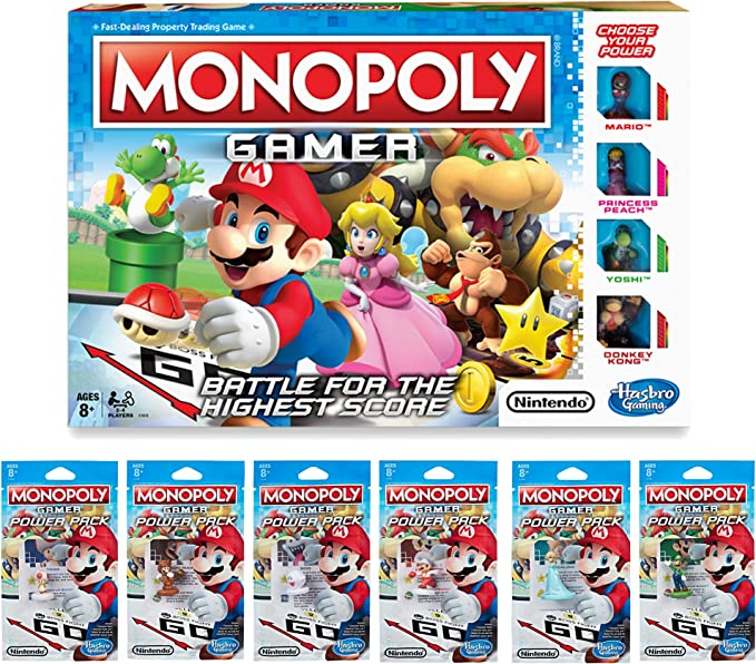 Monopoly Gamer Pack Bundle (Exclusivo de Amazon): Amazon.es: Juguetes y juegos
