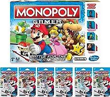Monopoly Prime Pack Edición Nintendo- Juego de mesa