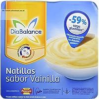 DiaBalance Natillas Vainilla - 6 Paquetes de 4