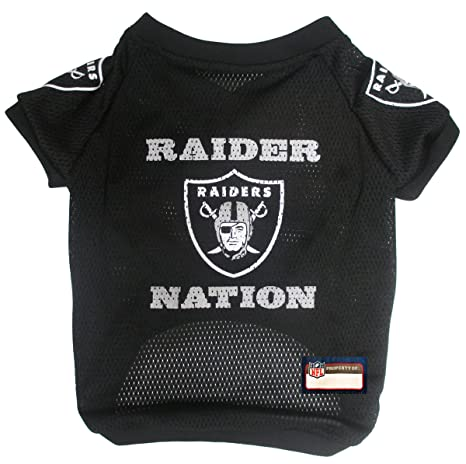 de7840f93 NFL Oakland Raiders Jersey for Pets. - Oakland Raiders Raglan Jersey Raider  Nation - X