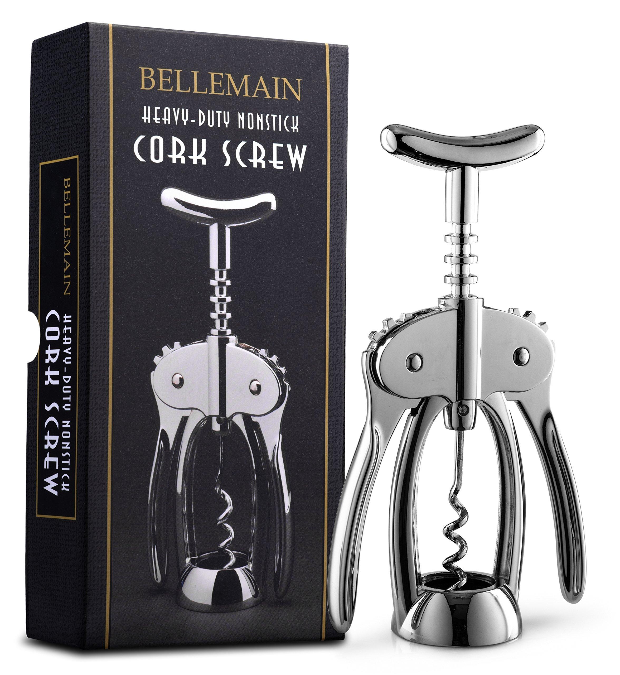 Bellemain Premium Wing Corkscrew Wine Opener Heavy-duty nonstick by Bellemain (Image #8)