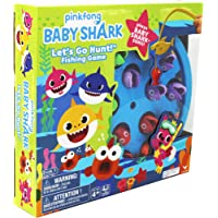 Spin Master- Baby Shark Gone Fishing Game Juego