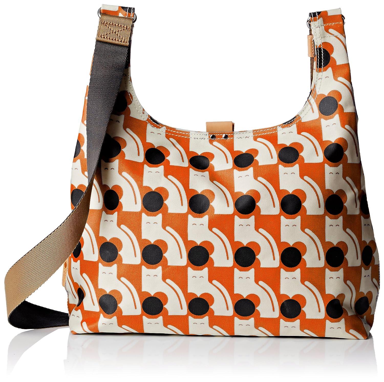 ac298bb1c427 Amazon | Orla Kiely レディース Poppy Cat Print Midi Sling Bag | Orla Kiely |  ショルダーバッグ