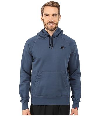 Nike Men\u0027s Ace Fleece Full Pullover, Saudron Blue/Black, XX-Large