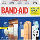 Band-Aid Brand Adhesive Bandages Variety Pack, 120 Count
