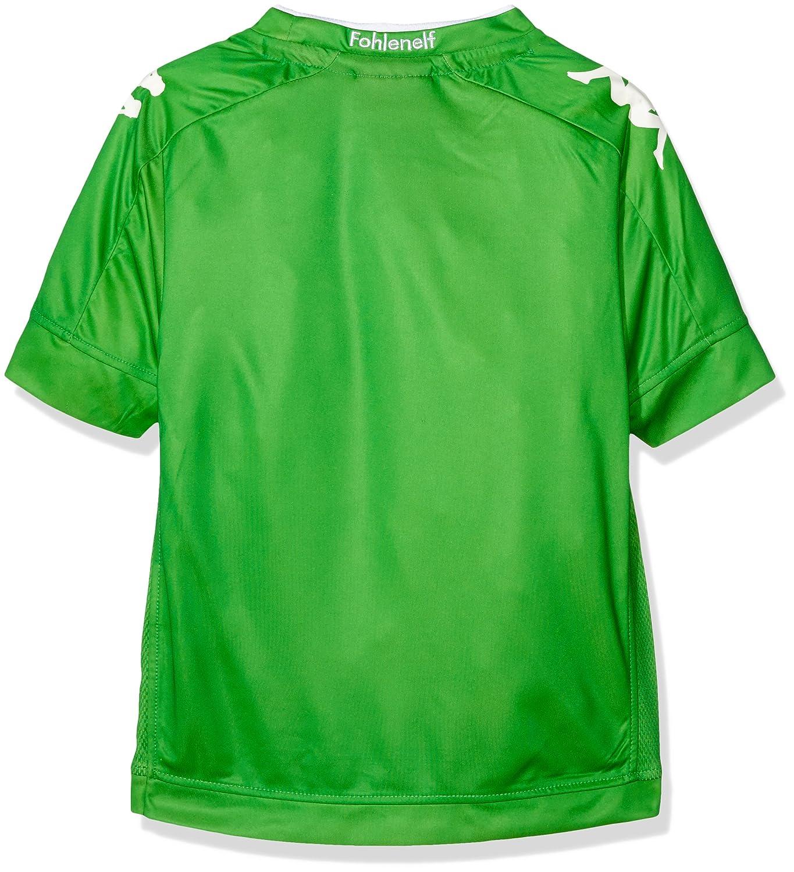 Kappa Borussia Mönchengladbach visitante. Camiseta Infantil: Amazon.es: Deportes y aire libre