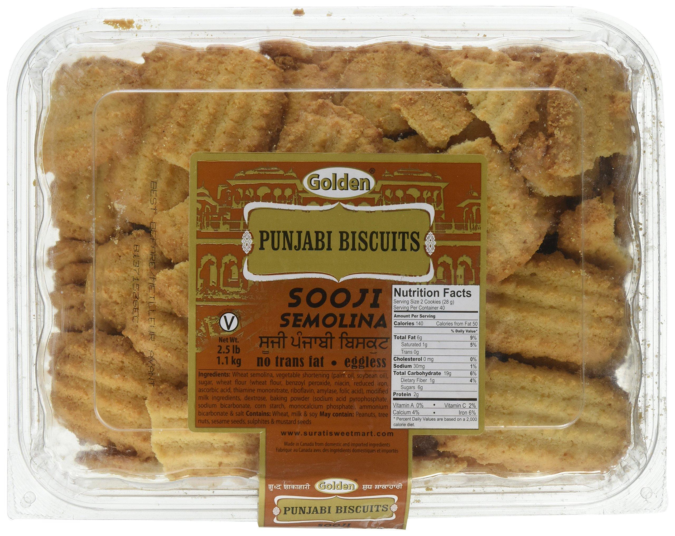 Golden, Punjabi Biscuits, 1.1 Kilogram(kg)