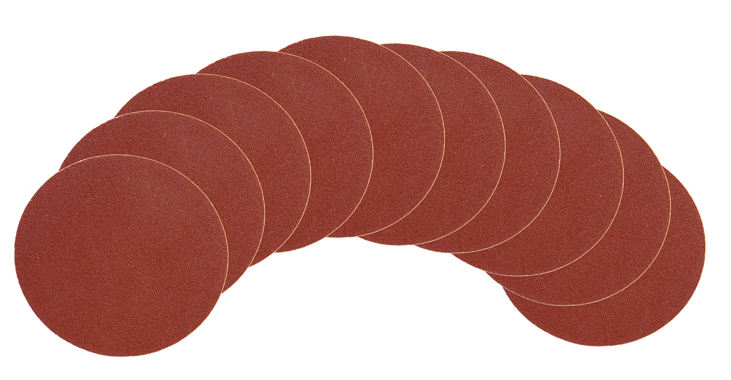 WEN 9SD120 120-Grit Adhesive-Backed 9-Inch Disc Sandpaper, 10-Pack