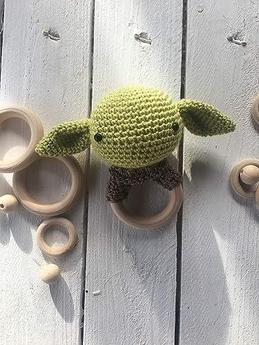 Canastilla Bebe Amazon.Sonajero Mordedor Baby Yoda Star Wars Canastilla Bebe