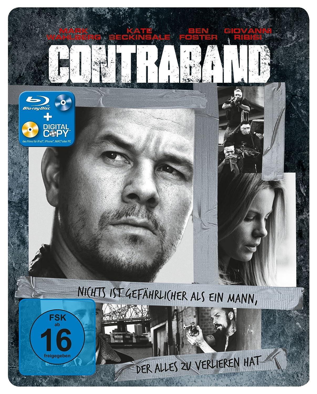 Contraband - Steelbook [Alemania] [Blu-ray]