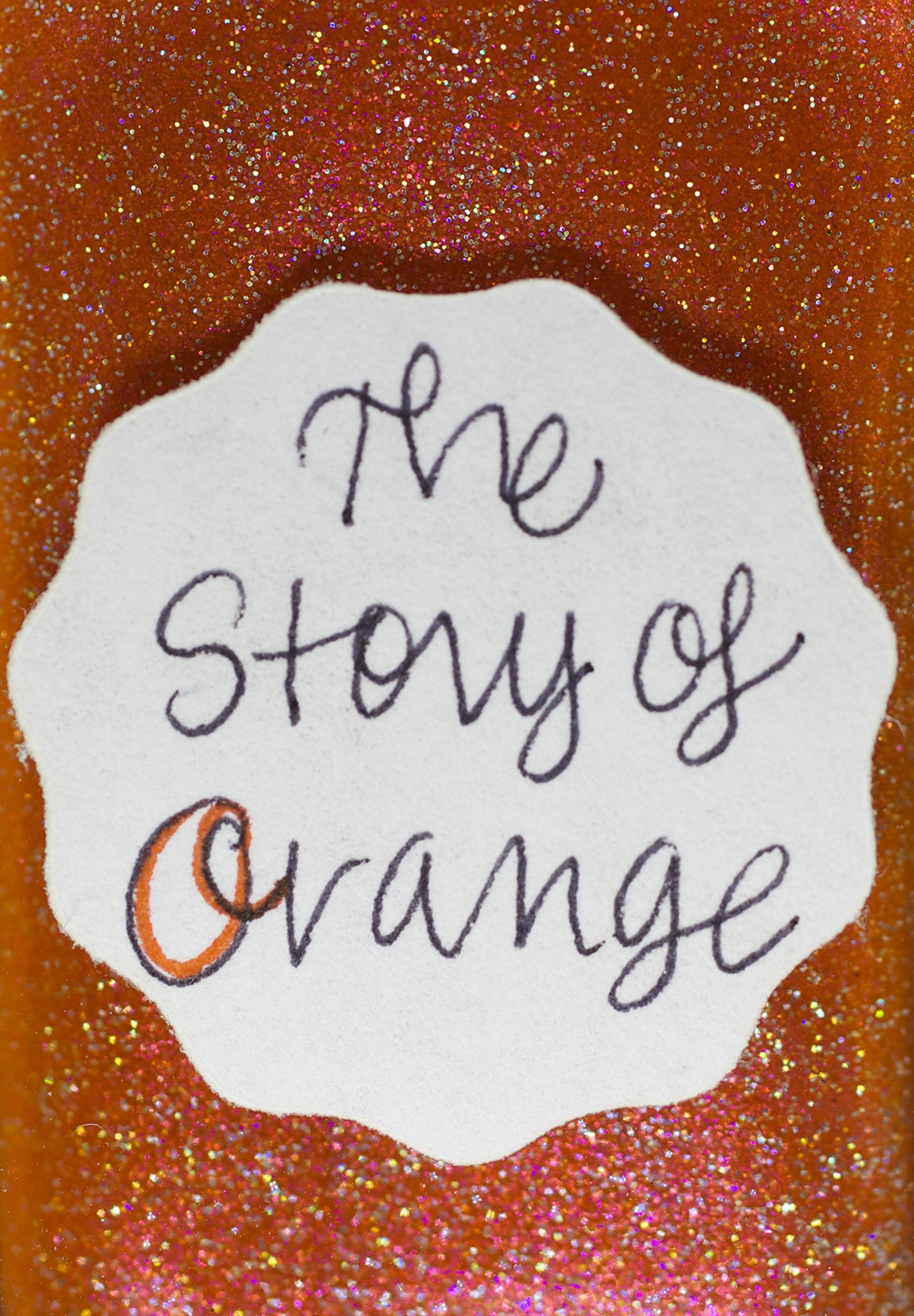 Lynnderella Limited Edition—Orange Shimmerella Nail Polish—The Story of Orange