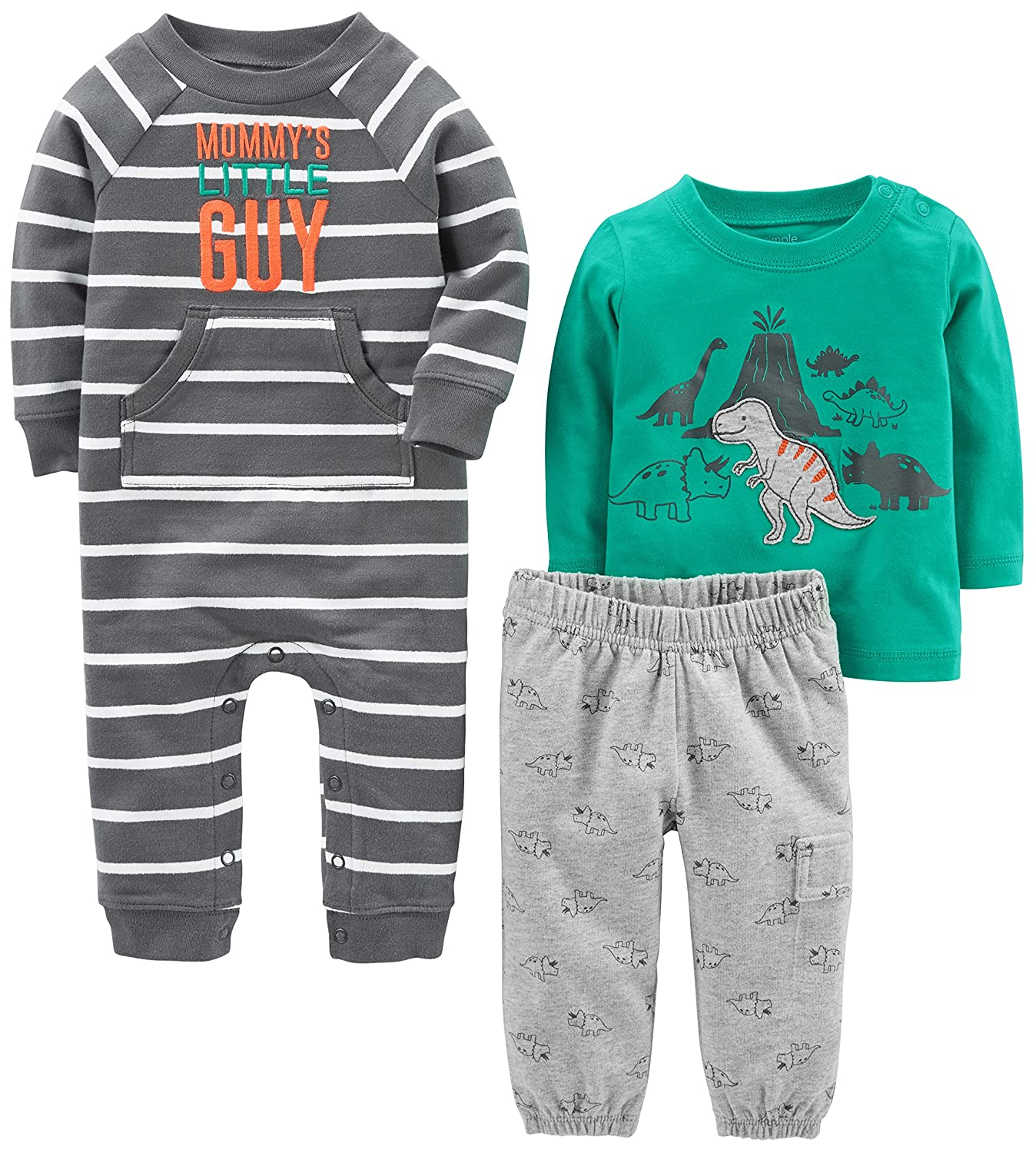 Simple Joys by Carter's Boys' 3-Piece Playwear Set Simple Joys by Carter's