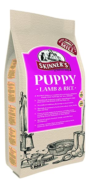 Skinner S Puppy Food Lamb And Rice 15 Kg Amazon Co Uk Pet Supplies