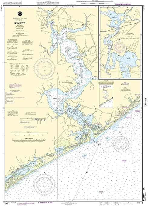 NOAA Print-On-Demand chart New River - Jacksonville 18th Edition Model: 11542