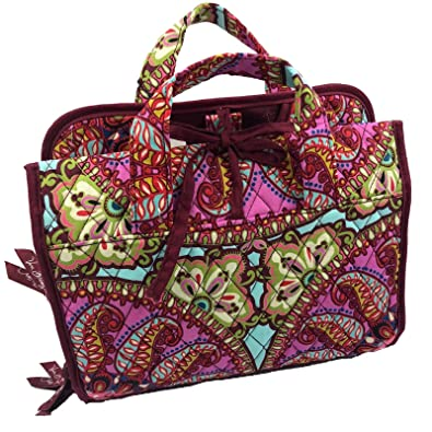 eec43a704 Image Unavailable. Image not available for. Color: Vera Bradley Hanging  Organizer Cosmetic Makeup Travel Bag