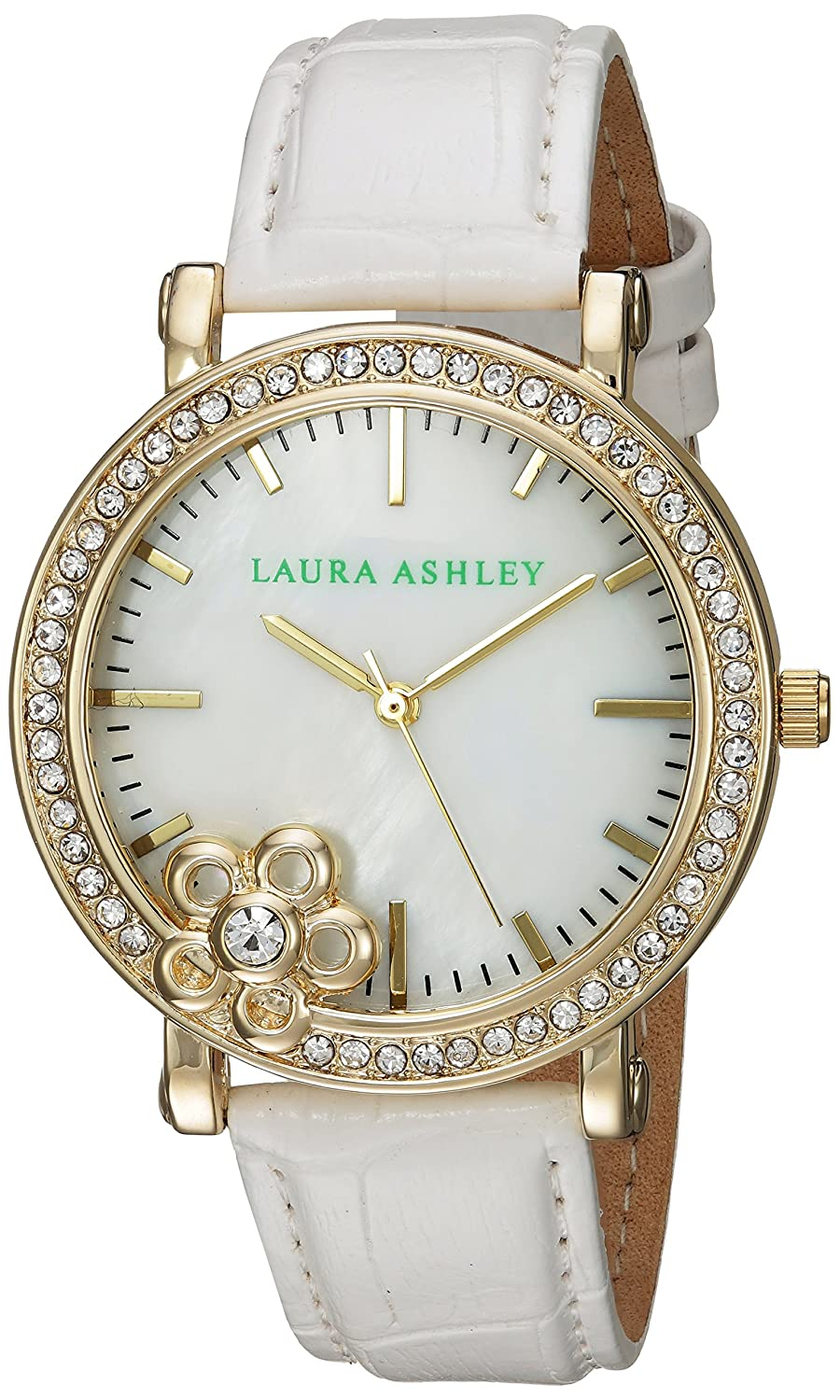 Laura Ashley Damen-Armbanduhr LA31013YG