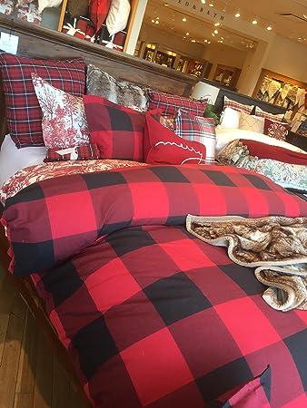 com set designer pattern lodge twin contemporary duvet piece cover buffalo dp amazon checkered check xl casual geometrical abstract