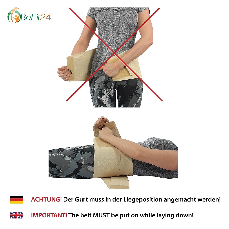®BeFit24 Faja Lumbar Premium Para El Dolor De La Parte Inferior De La Espalda - Alivio Instantáneo O Reembolso Completo - Cinturón De Soporte Para La ...