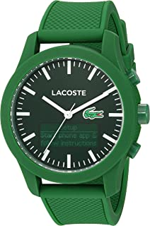 629f8609481 Lacoste Men s 2010883 LACOSTE 12.12 - TECH Analog-Digital Display Quartz  Green Watch