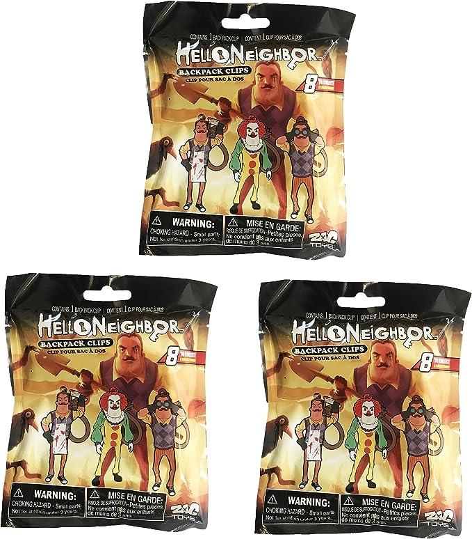 Hello Neighbor Blind Bag Mini Figures Backpack Hanger Clips ~Shovel