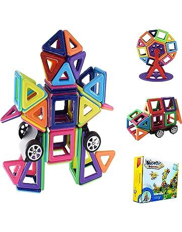 Bloques de construcción magnéticos, 3D Juguetes Creativos y Educativos, DIY Juguetes,Juegos de