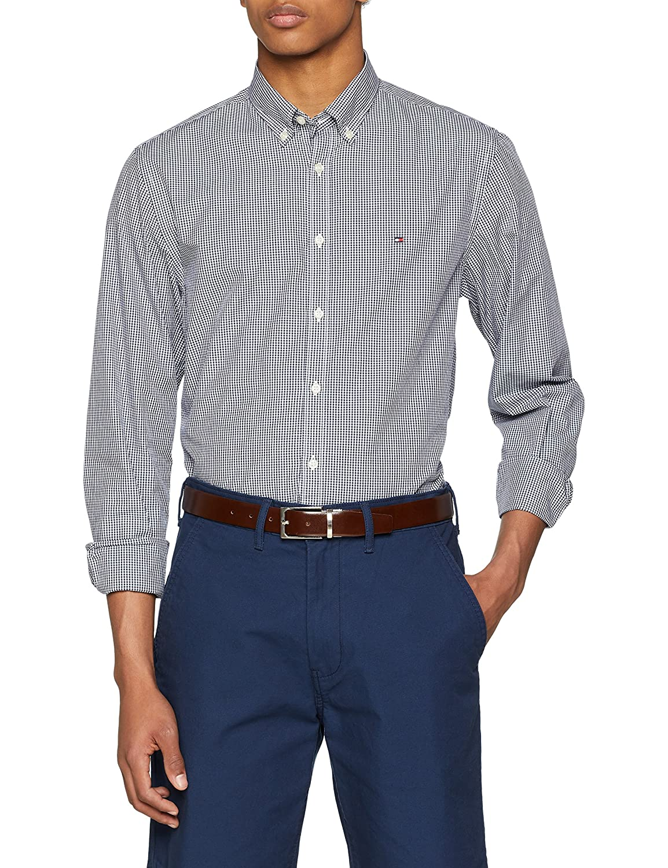 TALLA XXL. Tommy Hilfiger Core Check Shirt Camisa para Hombre