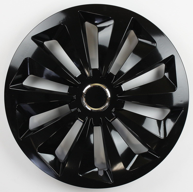 ZentimeX Z744973 Radkappen Radzierblenden universal 13 Zoll black