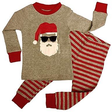 588c05e3b2 Fayfaire Christmas Pajamas Boutique Quality  Adorable Xmas Santa PJs 6-12M