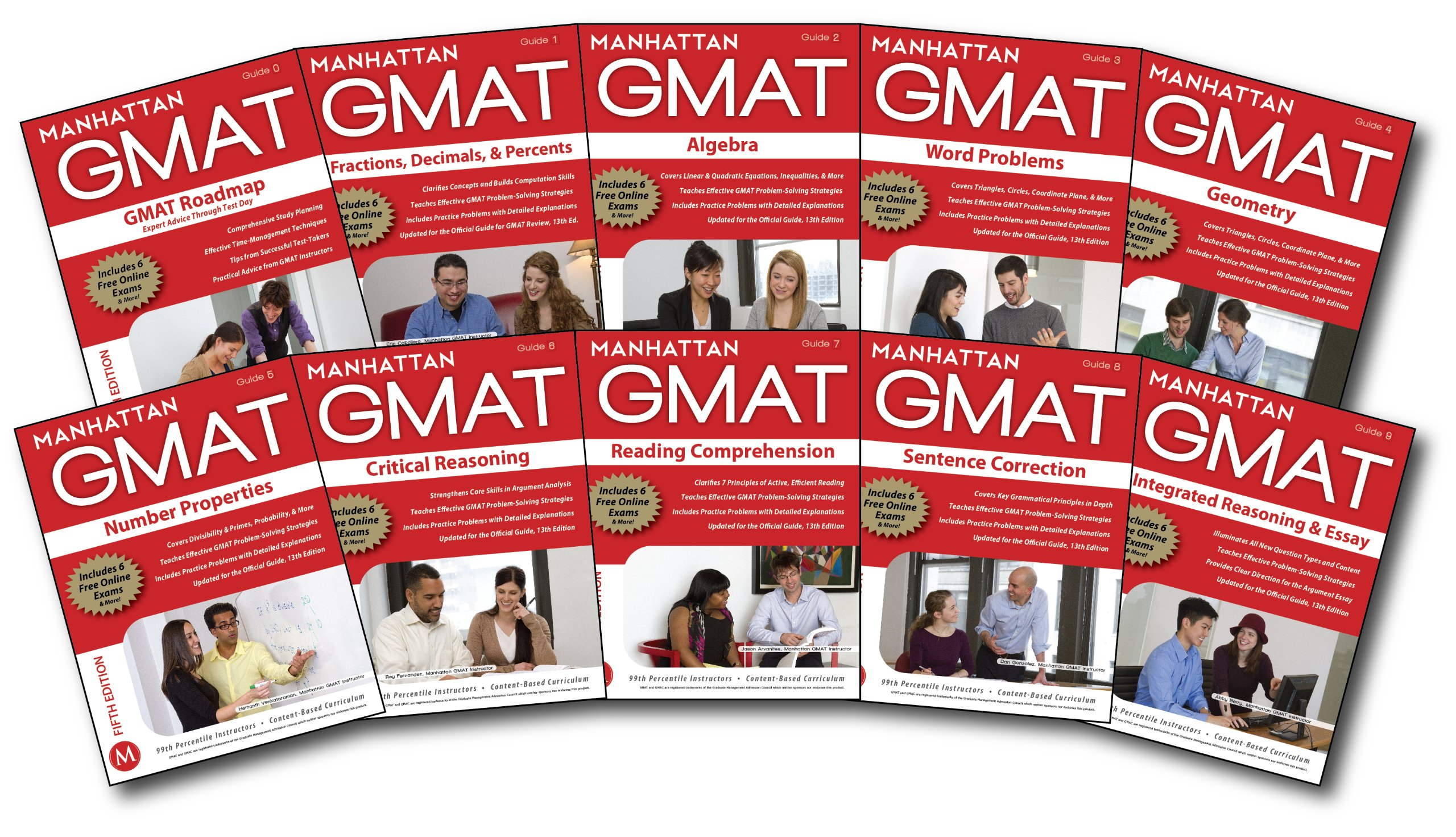Buy Manhattan GMAT Complete Strategy Guide Set, 5th Edition (Manhattan GMAT  Strategy Guides) Book Online at Low Prices in India | Manhattan GMAT  Complete ...