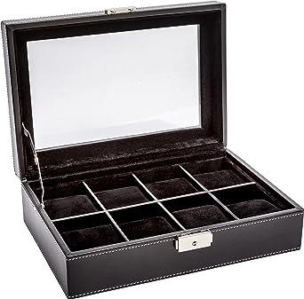 LA ROYALE Classico 8 XL Relojes Box – Caja para 8 Relojes: Amazon.es: Relojes