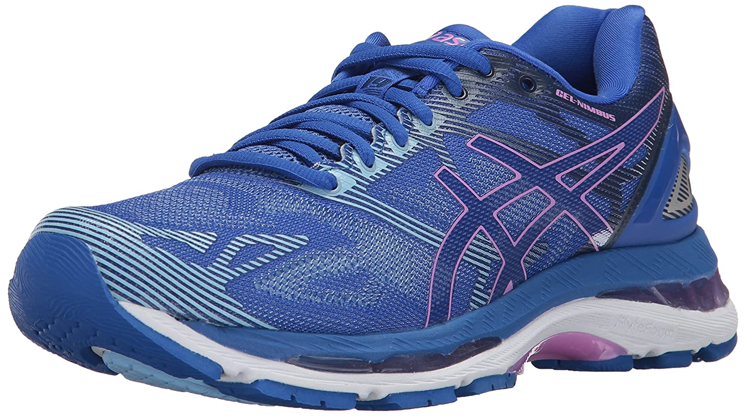 ASICS Women's Gel-Nimbus 19 Running Shoe B01N8OX0ZO 9.5 B(M) US|Blue Purple/Violet/Airy Blue