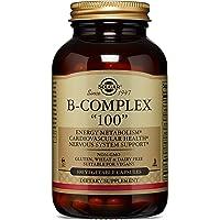 """Solgar B-Complex """"100"""", Energy Metabolism, Non-GMO, 100 Vegetable Capsules"""