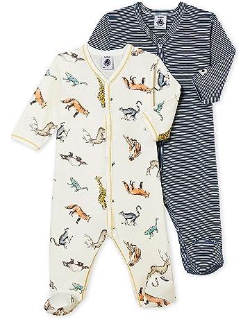 Petit Bateau Lot Db Gar, Camiseta de Pijama Bebé-para Niños (Pack de