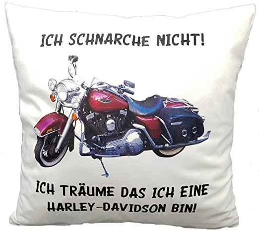 Kilala Anti Cojín Antirronquidos Harley Davidson Alemán Ich ...