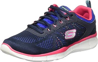 arco Aflojar prestar  Mujer Skechers Zapatillas bajo 11897/NVBL Nuevo MIESTONE 40 BLU: Amazon.es:  Zapatos y complementos