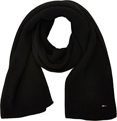 Tommy Hilfiger Basic Knit Denim Scarf Bufanda para Mujer