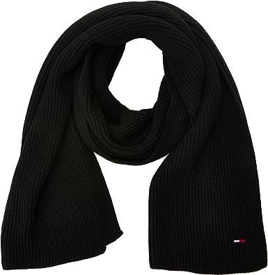 TALLA Talla única. Tommy Hilfiger Basic Knit Denim Scarf Bufanda para Mujer