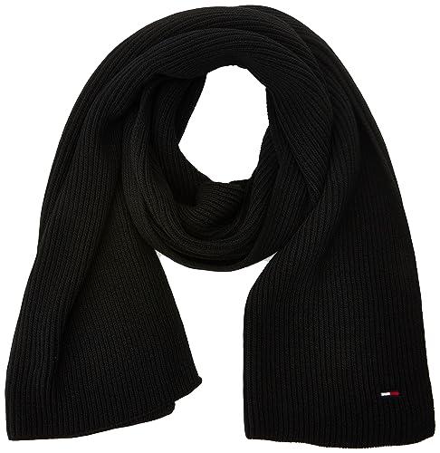 Tommy Hilfiger Basic Knit Denim Scarf, Bufanda para Mujer
