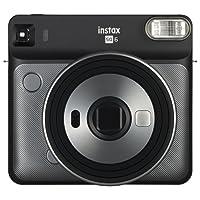 Fujifilm Instax Square SQ6 Fotocamera Istantanea per Foto Formato Quadrato 62 x 62 mm, Graphite Grey