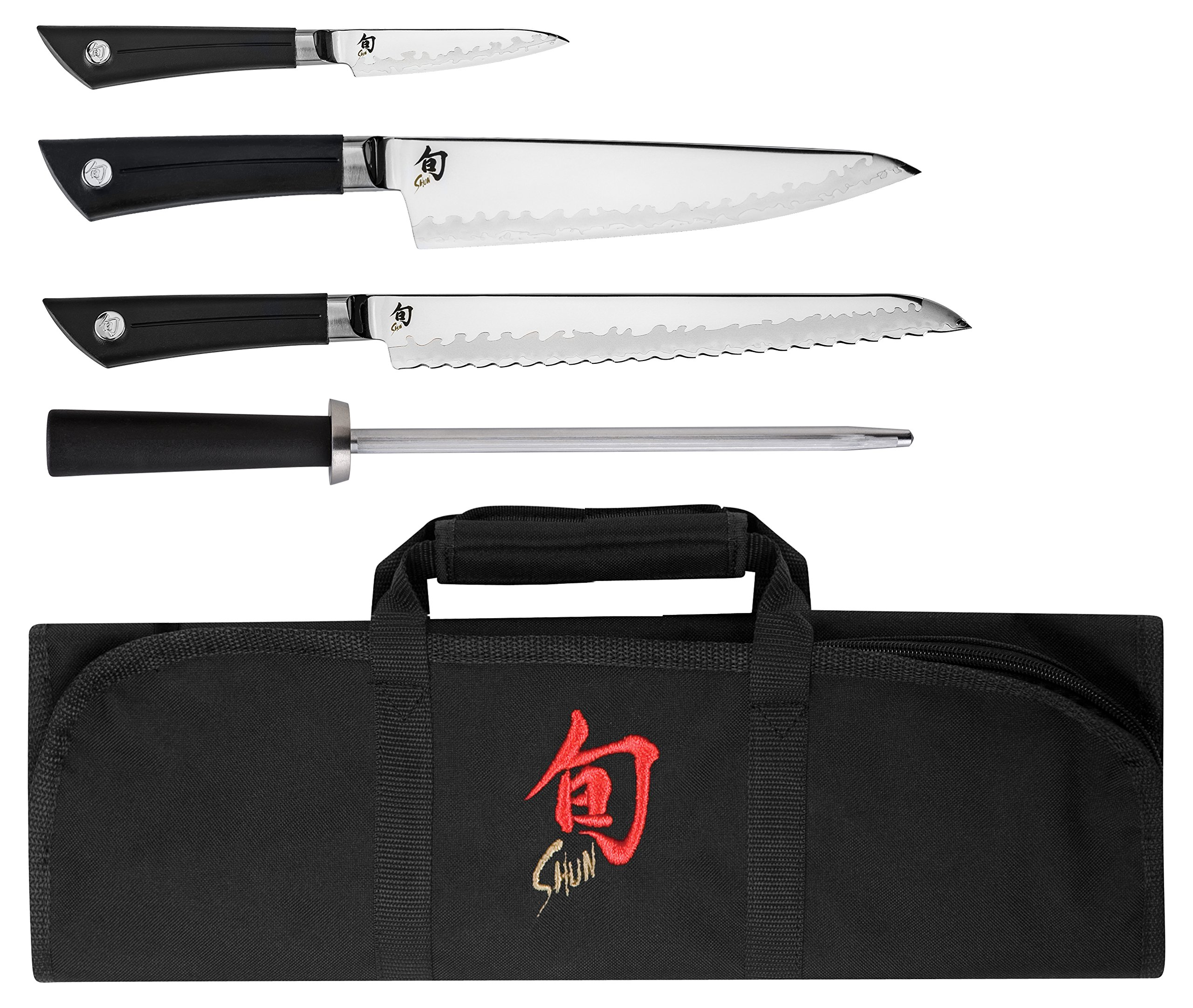 Shun VBS0499 5 Piece Sora Student Japanese Cutlery Set, Silver by Shun (Image #1)