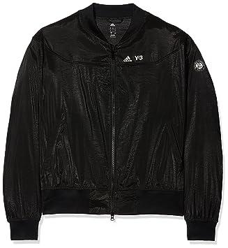 b2ab9a2f57ba adidas Women s Jo-Wilfried Tsonga Roland Garros Y-3 Premium Jacket - Black