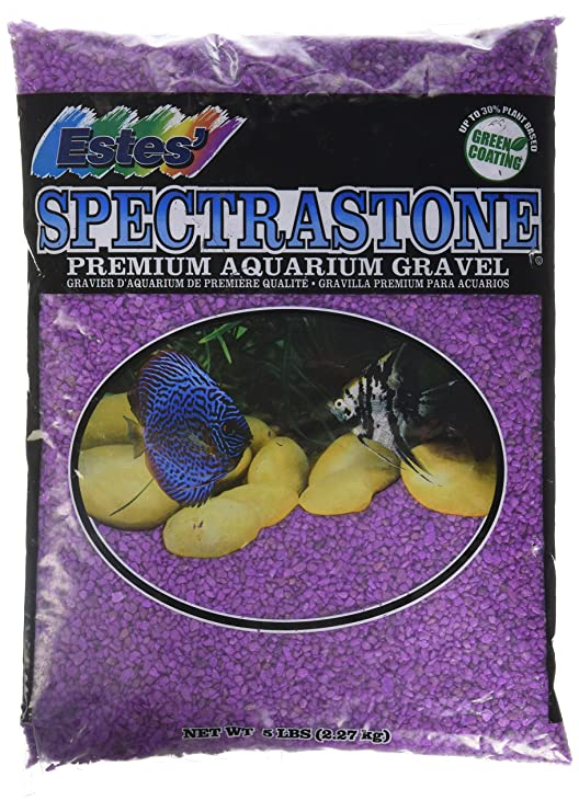 Amazon.com : Clifford W Estes Products Gravel, Mini Perma Lavender, 5 lb : Pet Supplies