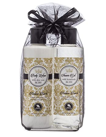 Lotion Gift Set Birthday For Her 8 Ounce Shower Gel And Body