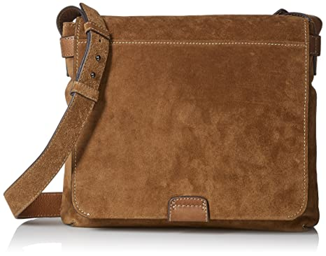 Amazon.com: Frye Men's Chris Messenger Suede, Fatigue: Clothing